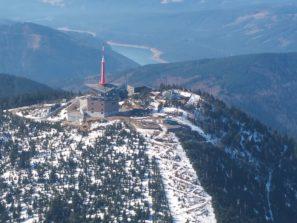 Lysá hora z ptačí perspektivy AUTOR: Roman Kašpárek